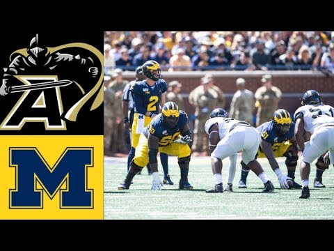 Army vs #7 Michigan Highlights (F/2OT) | NCAAF Week 2 | College Football Highlights