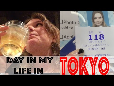 Day in my life in TOKYO (: Visas, friends, drinking culture