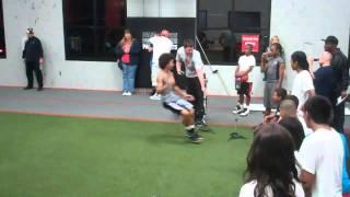 Waukegan Jr Bulldogs Football Team Training @ Athletic Republic
