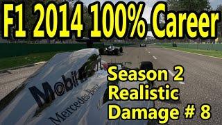 F1 2014 Gameplay PC : 100% Race Austria 1080p HD F1 Game Career Mode Season 2.