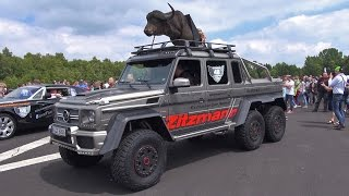 $780,000 BRABUS 700 G63 AMG 6x6 1/4 Mile Drag Racing!