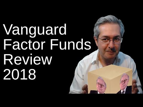 Vanguard Factor Funds Review 2018