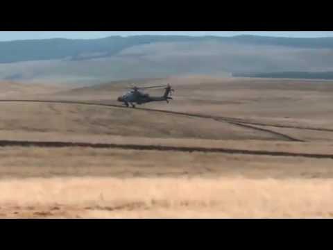 Royal Netherlands Air Forch AH-64D Apache, RAF Spadeadam