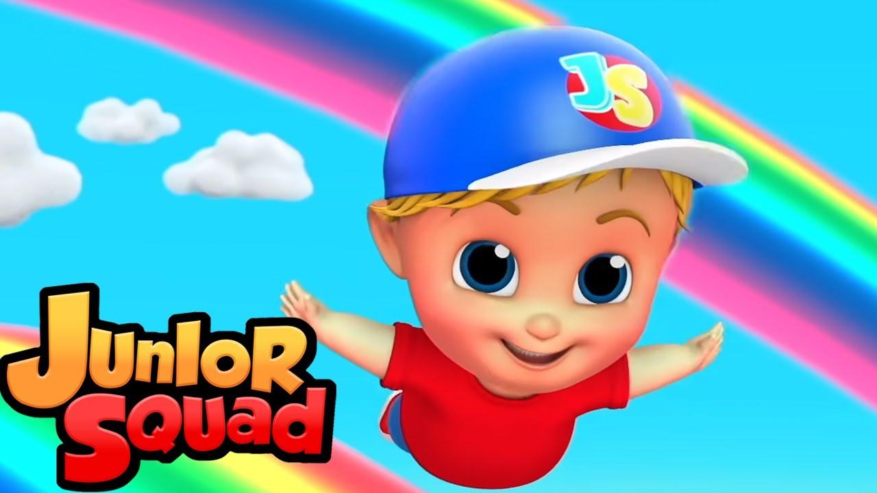 свинг песня   потешки для малышей   мультфильмы   Junior Squad Russia   детская музыка