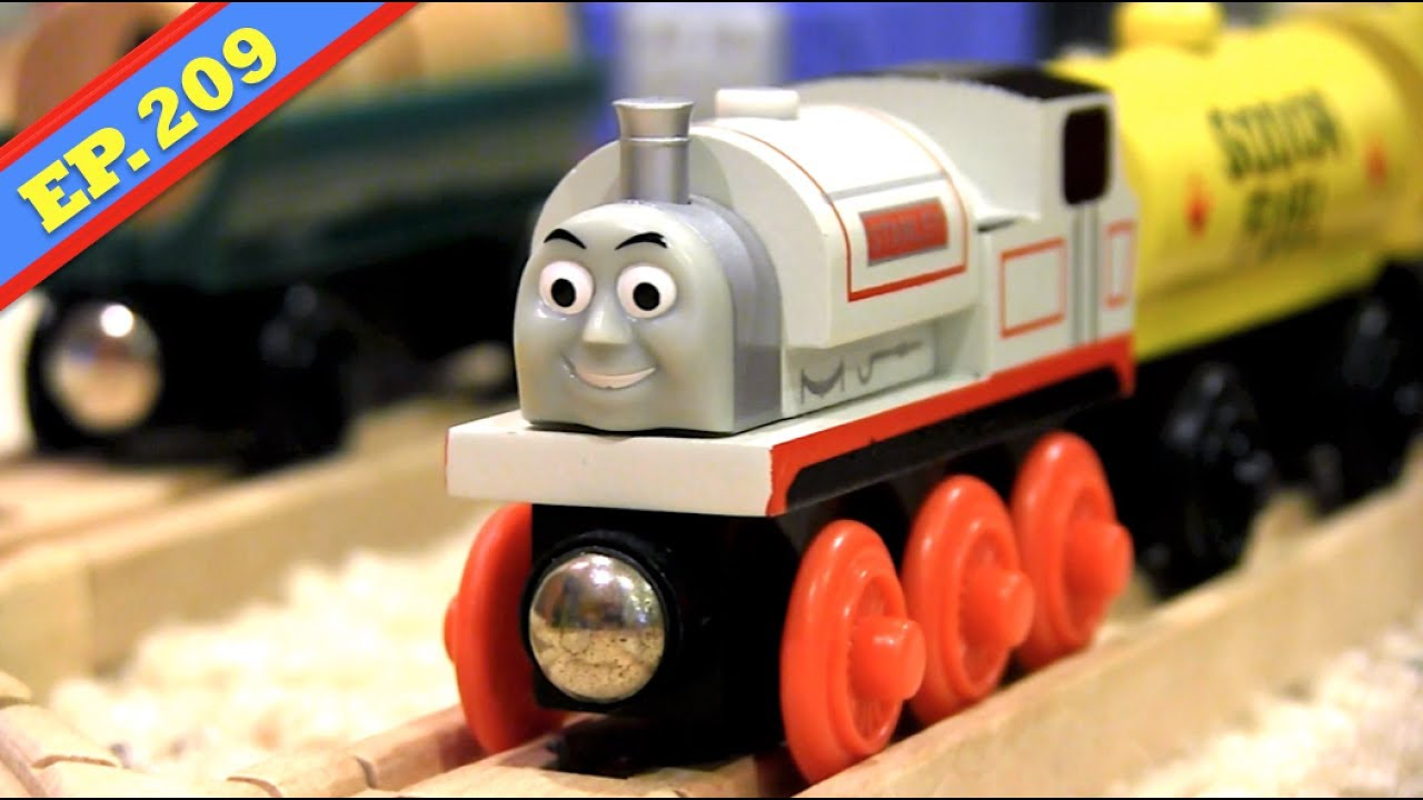 Zabawki Thomas The Train & Friends Wooden STANLEY Engine Wooden Railway Tank Kids Toy