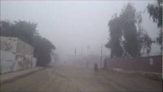 Sukkur city trip in fog