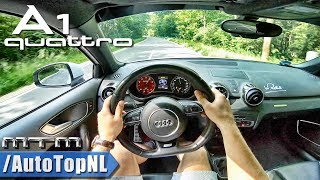 AUDI A1 QUATTRO | 1 of 333 | 380HP MTM | POV Test Drive by AutoTopNL