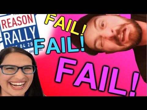 The HILARIOUS SJW #ReasonRally FAILFEST!