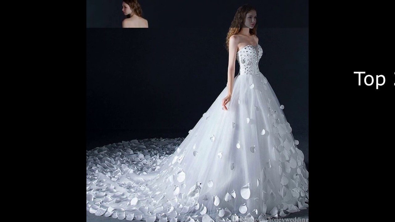 Wow! Das sind die Top 17 der teuersten Brautkleider 17!