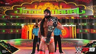 WWE 2K19 Update Patch 1.02: Jinder Mahal Updated Trons GFX (HIDDEN) - PC