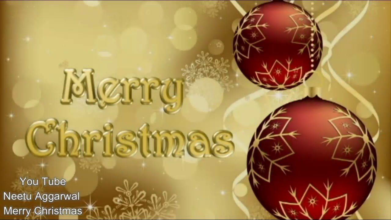 Merry Christmas And Happy New Year Animated Wishes Greetings Sms