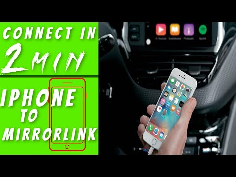 Mirror Phone To Car Screen: How Do I Connect My IPhone To Mirrorlink? (2019)