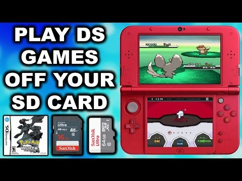 3DS Play NDS ROM's Off Your SD Card! (TWiLightMenu)