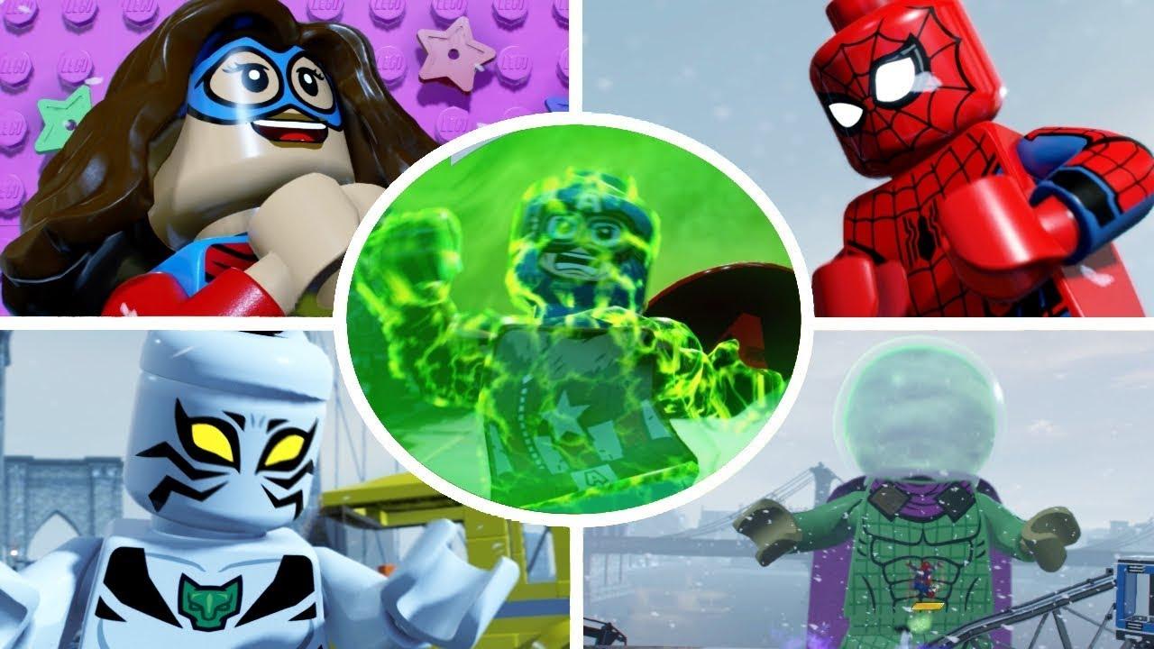 marvel lego heroes 2 walkthrough