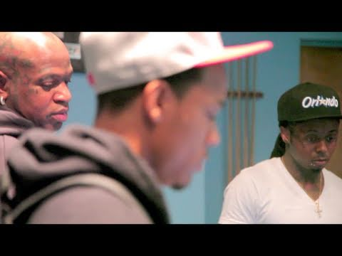 Bow Wow In The Studio With Lil Wayne