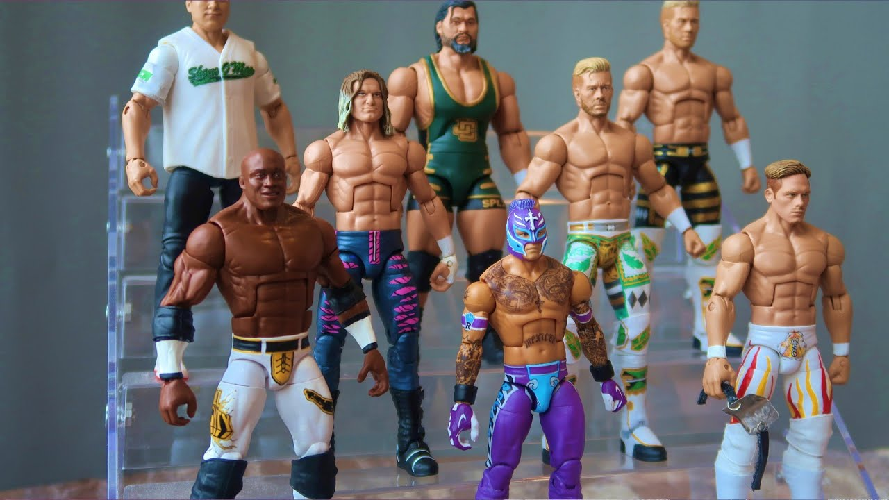 MY NEW CUSTOM WWE ACTION FIGURES! WSC STAGE CREATOR & MORE