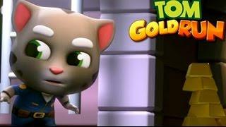 Говорящий Том и друзья Бег за золотом Игровой мультик Детский летсплей видео Мульт для малышей
