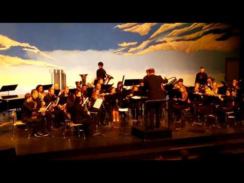 Muskegon Community College Wind Ensemble. (Fall 2015)
