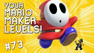 SHY GUY MANSION: YOUR Mario Maker Levels #73