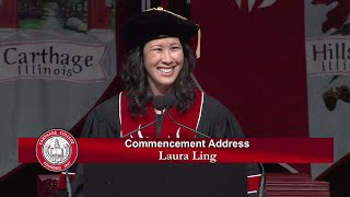 Laura Ling Carthage College Commencement Address 2015