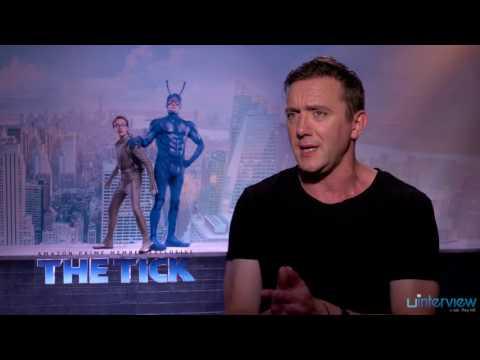 Peter Serafinowicz on New Amazon Comedy 'The Tick'