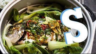Steamed Chinese Sea Bream Recipe - SORTED
