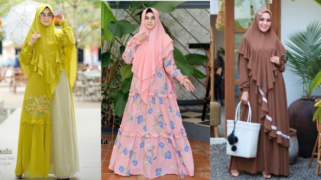 💝 11 Model Baju Gamis Syari Kekinian Terbaru 11 Cocok Untuk Lebaran   Harga Murah Kualitas Premium
