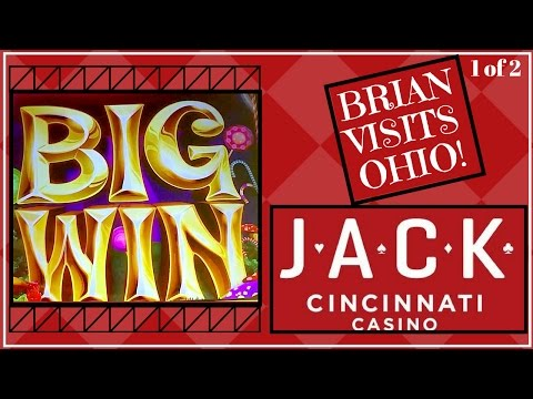 Brian Visits Ohio Casino *1 of 2* ✦ LIVE PLAY ✦ Slot Machine Pokies at JACKS in Cincinnati