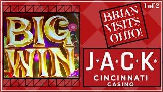 Brian Visits Ohio Casino *1 of 2* ✦ LIVE PLAY ✦ Slot Machine Pokies at JACK