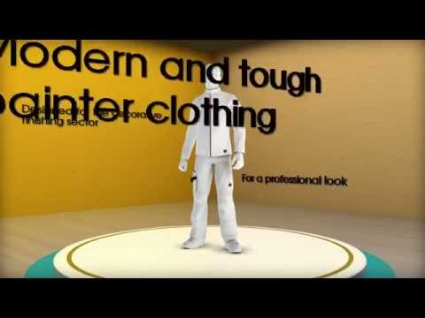 Decorator and plasterer work clothing HaVeP® Painter