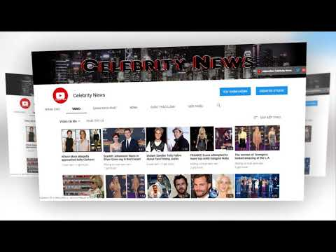 Welcome to the Celebrity News Channel !