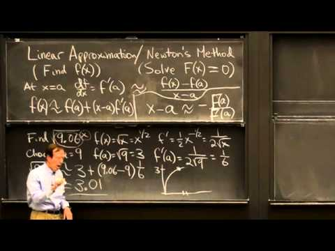 Linear Approximation/Netwon's Method | MIT Highlights of Calculus