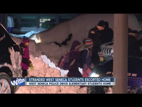 West Seneca elementary students escorted home by police