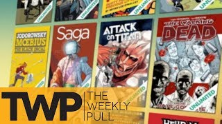 The Future of Comics through Comixology Originals | The Weekly Pull Podcast