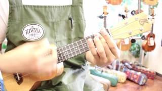 "Kiwaya 商品紹介 ""Kanile`a K-1S UV Natural Deluxe"" ハワイ産Ukulele ソプラノモデル"