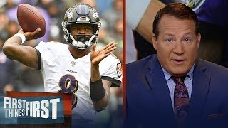 Pats defense will force Lamar Jackson to win for Ravens passing — Mangini | NFL | FIRST THINGS FIRST