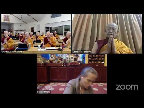 04 Pramanavarttika with Geshe Yeshe Thabkhe: Suffering and the Humors 10-07-20
