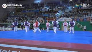 Taekwondo Aerobic International Junior 1,2 1st MALAYSIA
