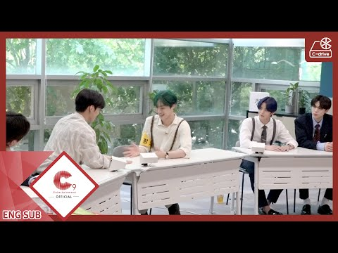 [C-drive] CIX playing with their hands (ENG SUB)