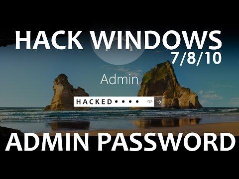 How To Hack Windows 10 / 8 / 7 Administrator Password (offline)