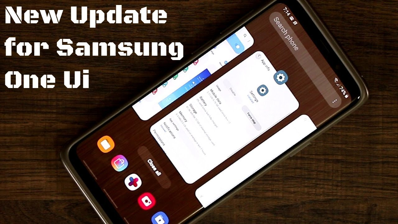 Galaxy S9 Plus running Samsung One Ui - New Update! (Android Pie 9 0)