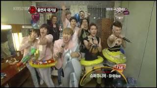 100723 Super Junior Goodbye Stage - Waiting room MB