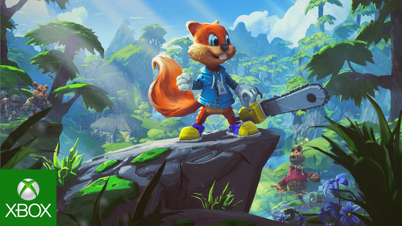 Conker Community Creations In Project Spark Youtube