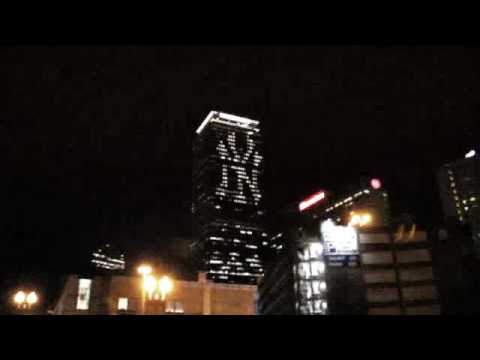 New York Yankees Boston Prudential Tower Prank Hoax