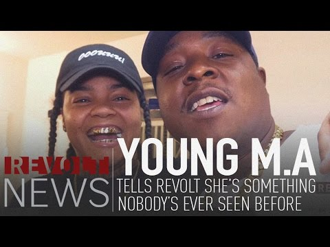 Young M.A tells REVOLT she's something...