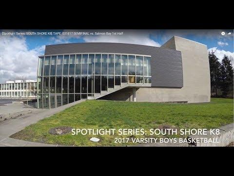 SOUTH SHORE K8 vs. Salmon Bay SEMIFINAL Mar 18, 2017 2nd Half | Spotlight Series