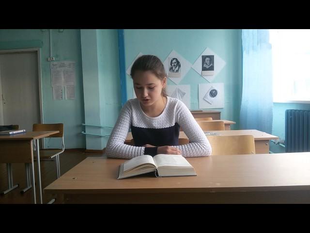 Изображение предпросмотра прочтения – АнгелинаХурамшина читает произведение «Родной язык» В.Я.Брюсова