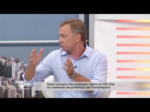 Gean Loureiro faz avaliação sobre os 100 dias no comando da Prefeitura de Florianópolis
