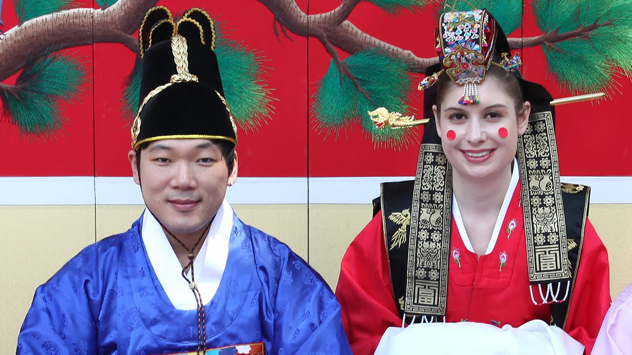 Korean weddings traditions