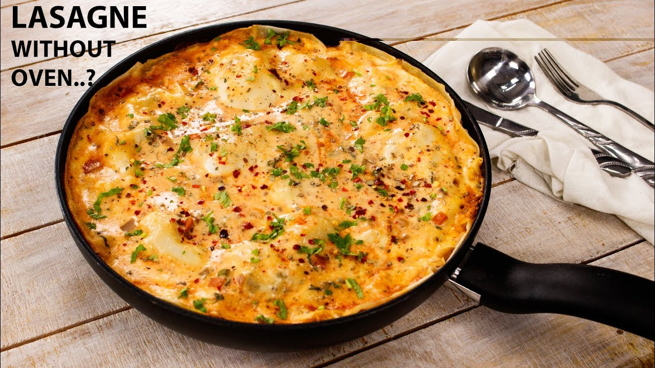lasagne maken oven